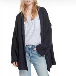 Free People Low Tide Cardigan Slouchy Oversized